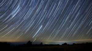 Star Trails by Daniel Dragon Lowe for White Buffalo:  An American Prophecy