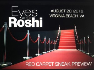 Join the Cast and Crew of the Light Age Films action-drama Eyes of the Roshi at a screening in Virginia Beach where the film was shot.